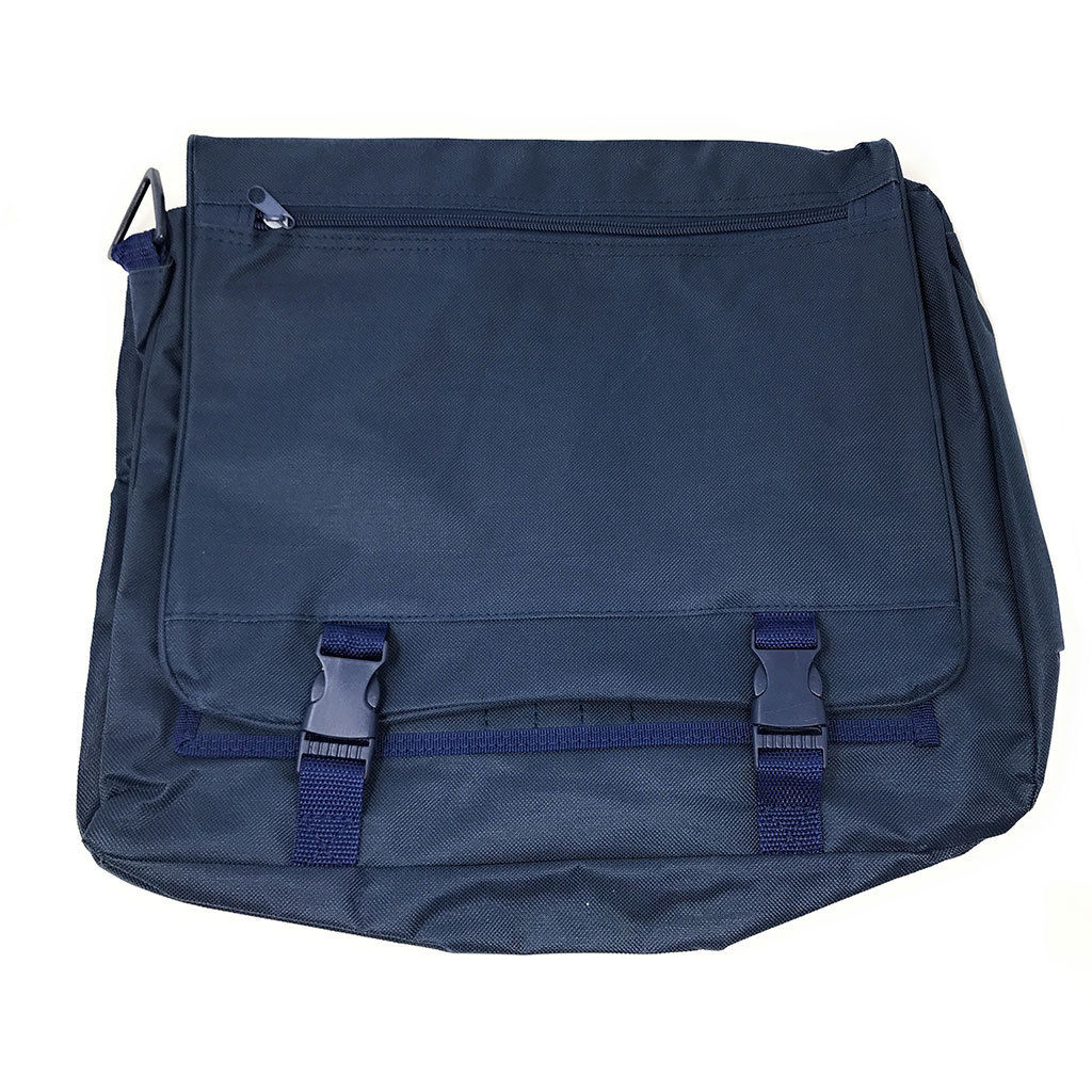 Expandable Portfolio Messenger Bag - 2 Colors Available-Navy-Daily Steals