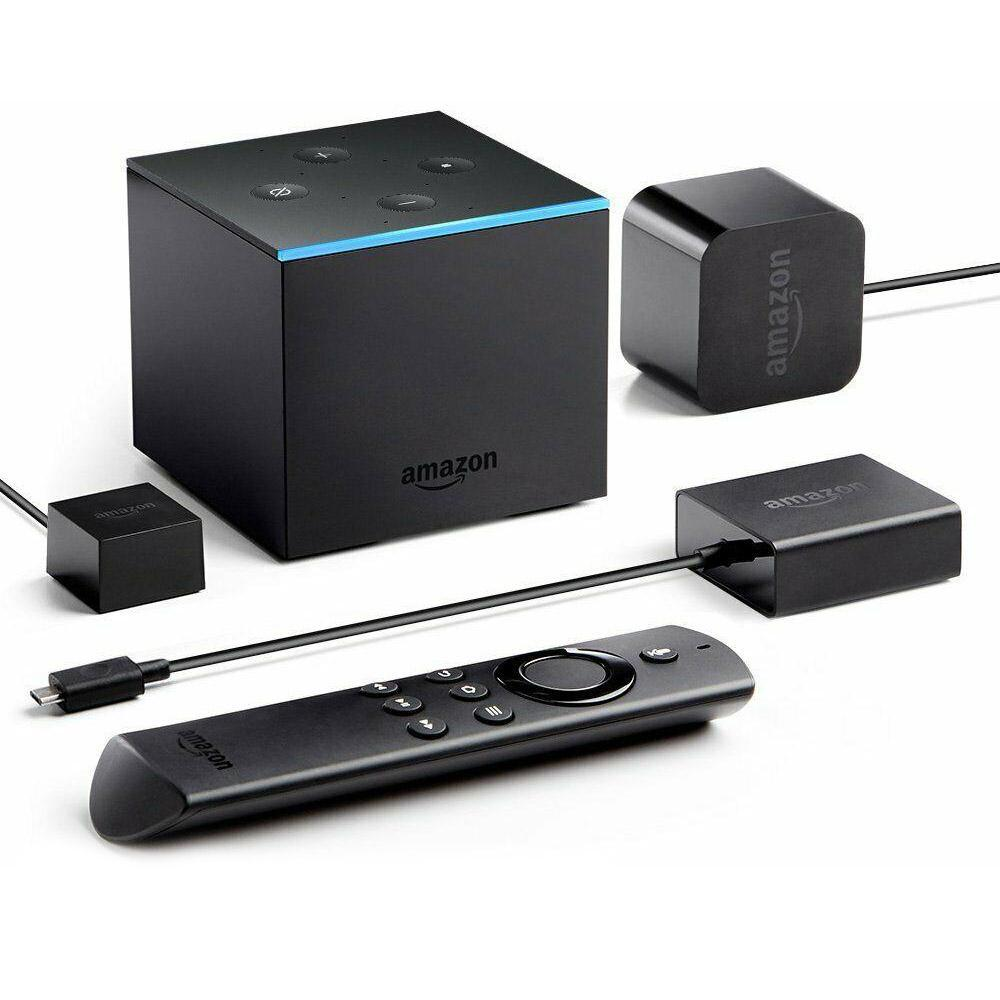 Amazon Fire TV Cube 4K Ultra HD Streaming Media Player with Alexa-Daily Steals
