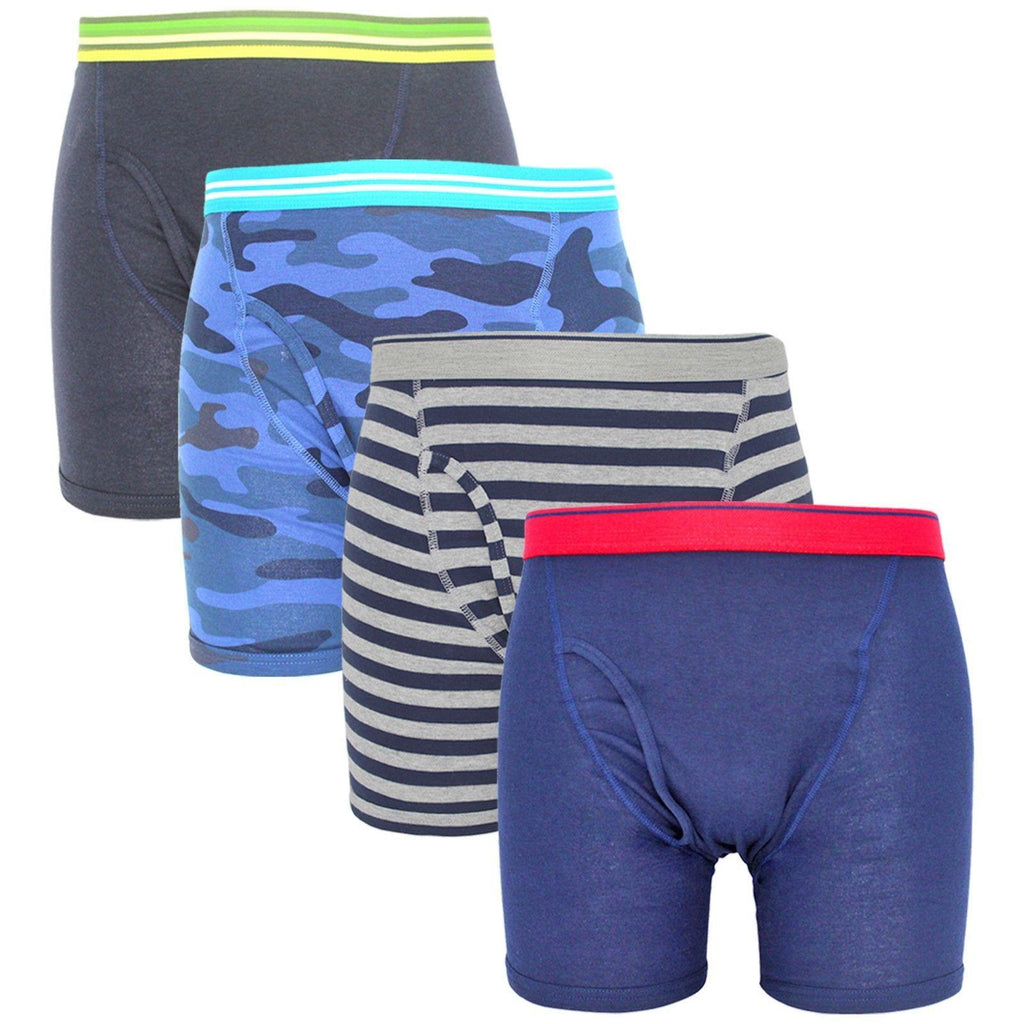 Men's Casual Boxer Brief - 4 Pack-Daily Steals
