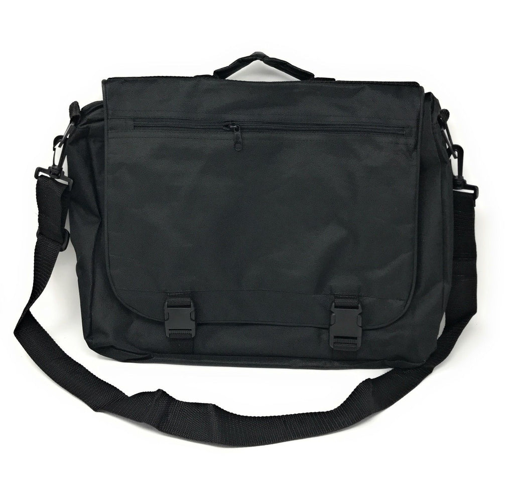 Expandable Portfolio Messenger Bag - 2 Colors Available-Black-Daily Steals