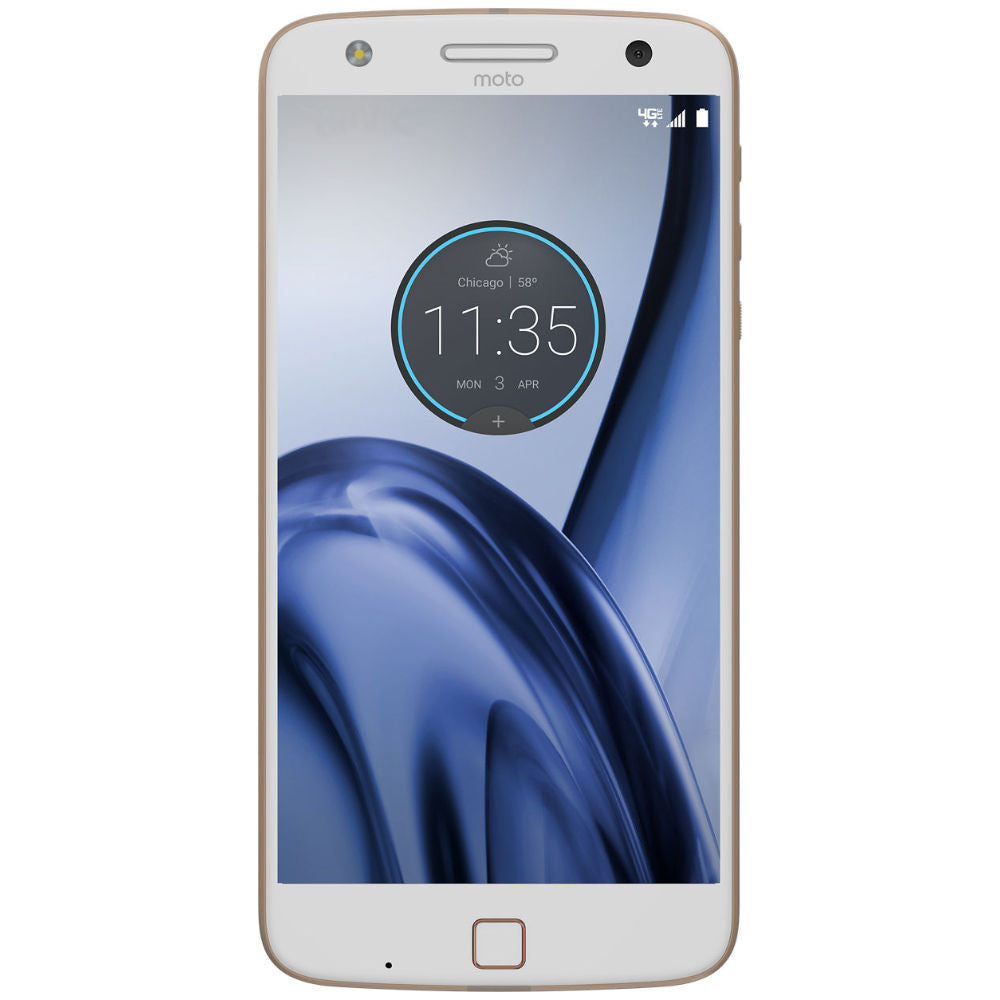 Motorola Moto Z Play 4G LTE with 32GB Memory Cell Phone (Verizon and GSM Unlocked)-White-Daily Steals