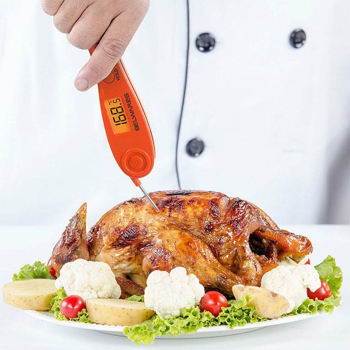Instant Meat Thermometer With High Precision Sensor-Daily Steals