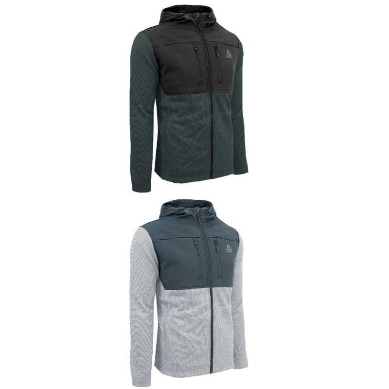 Reebok Men's Softshell Swacket Jacket-Daily Steals