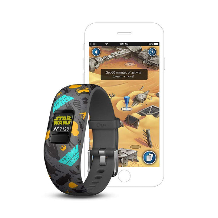 Daily Steals-Garmin vívofit jr 2, Kids Fitness/Activity Tracker - Star Wars The Resistance-Wearables-