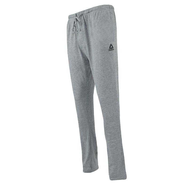 Reebok Men's Core Knit Loungewear Pants-Heather Grey-S-Daily Steals