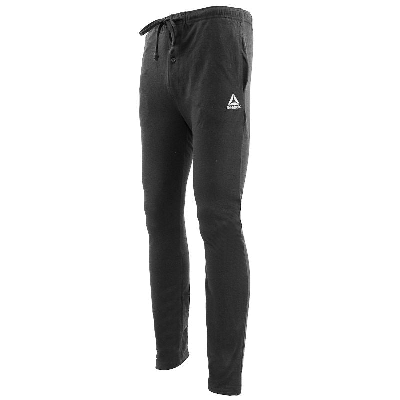 Reebok Men's Core Knit Loungewear Pants-Charcoal Heather-L-Daily Steals