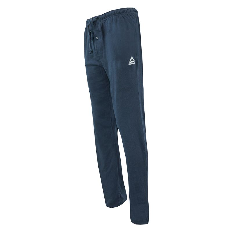 Reebok Men's Core Knit Loungewear Pants-Navy-M-Daily Steals