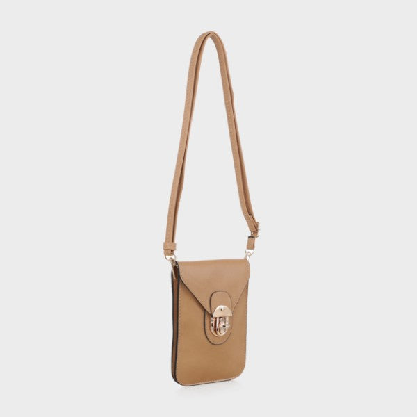 MKF Collection Havana Cell Phone Bag - 14 Styles-Taupe-Daily Steals
