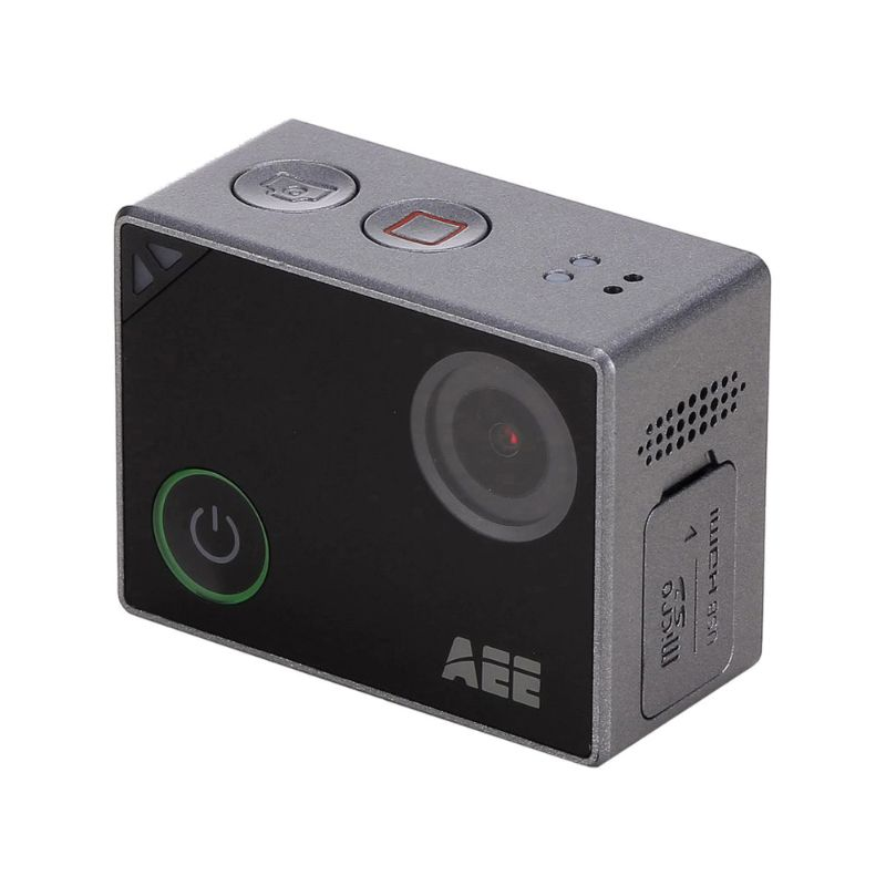 Caméra étanche 4K Pro Action par AEE Technology - S91B LYFE, Silver-Daily Steals