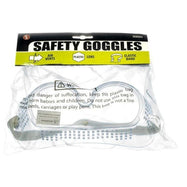 Safety Goggles, Adjustable Elastic Headband, Built-in Vents - 2 Pack-