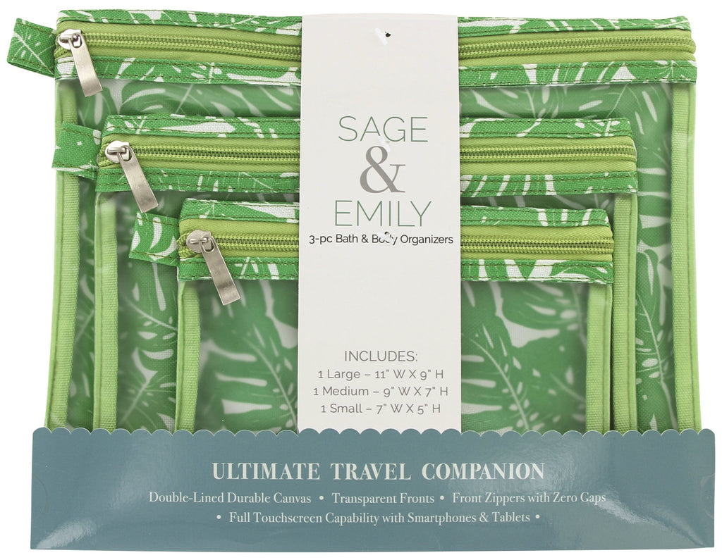 SAGE and EMILY 3 Piece Bath and Body Organizer-Daily Steals