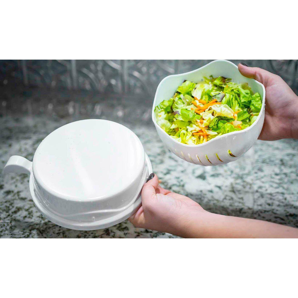Daily Steals-Salad Cutter Bowl With Knife Slots-Kitchen-