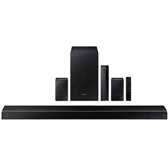 "Samsung 38.6"" 7.1 Channel Home Theater Sound System with Wireless Subwoofer and Rear Speakers-"