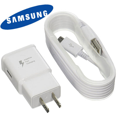 Samsung 2-Amp Quick Charger, with  5-Foot Micro USB Cable