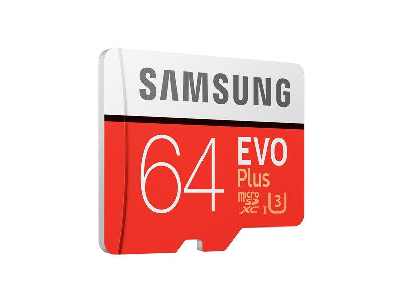 Daily Steals-Samsung EVO Plus UHS-I MicroSDXC-minneskort med SD-adapter - digital lagring-