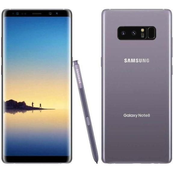 Daily Steals-Samsung Galaxy Note 8 for Verizon + GSM Unlocked for AT&T and T-Mobile - Orchid Gray-Cellphones-