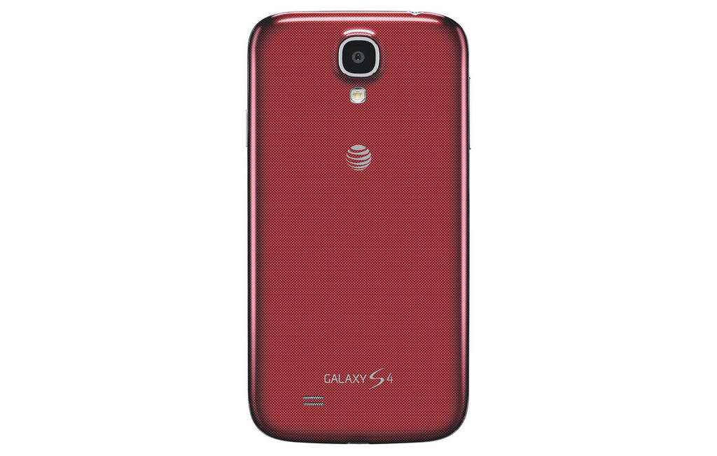 Samsung Galaxy S4 I337 16GB AT&T Unlocked 4G LTE Quad-Core Android Phone w/ 13MP Camera - Red (Refurbished)-Daily Steals