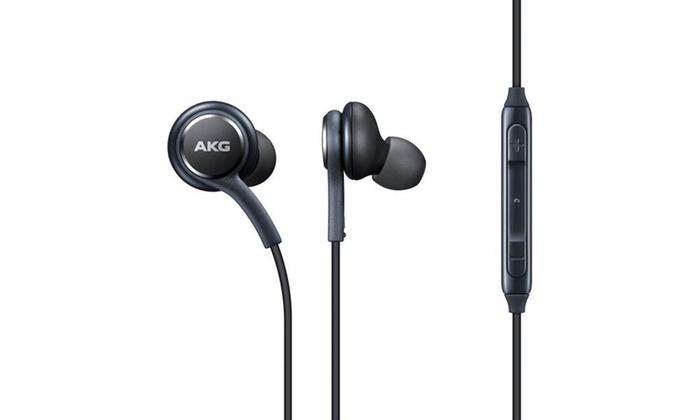 Daily Steals-Samsung Galaxy S8/S8+ Stereo Headphones Tuned by AKG - 2 Pack-Headphones-