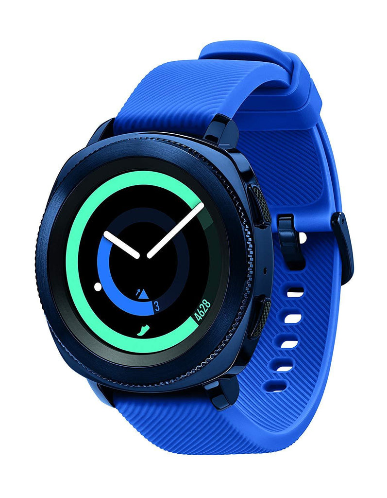 Daily Steals-Smartwatch-Wearables-Blue de Samsung Gear Sport R600 résistant à l'eau
