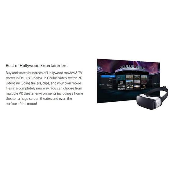 Daily Steals-Samsung Gear VR Virtual Reality Headset-Hörlurar (renoverade) -
