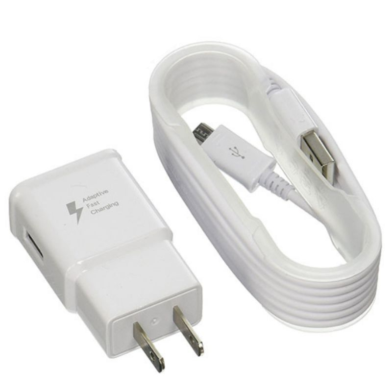 Samsung Fast Charge Travel Charger with 5-Foot Micro USB Cable-1 pack-Daily Steals