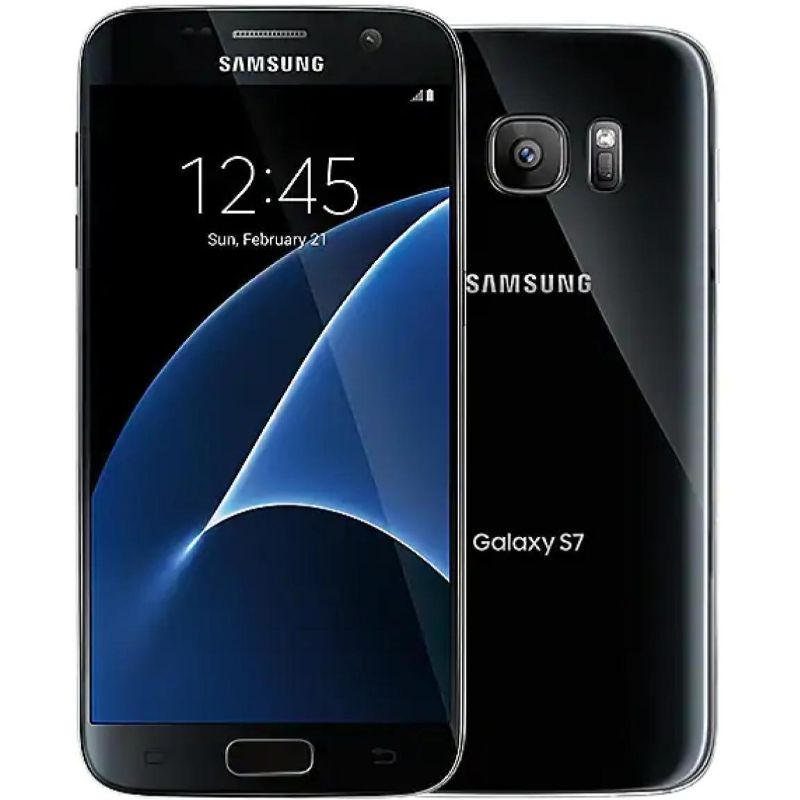 Samsung Galaxy S7 32GB Black GSM Unlocked Phone with Samsung Car Charger-Daily Steals