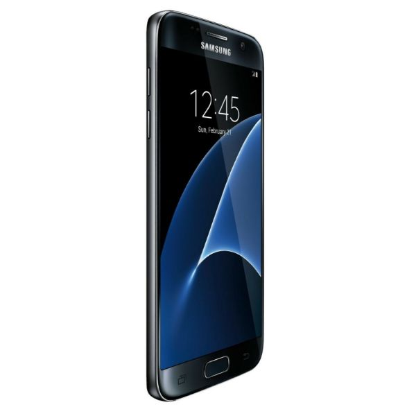 Samsung Galaxy S7 32GB Black, Factory Unlocked - Charging Pad - Headphones-Daily Steals