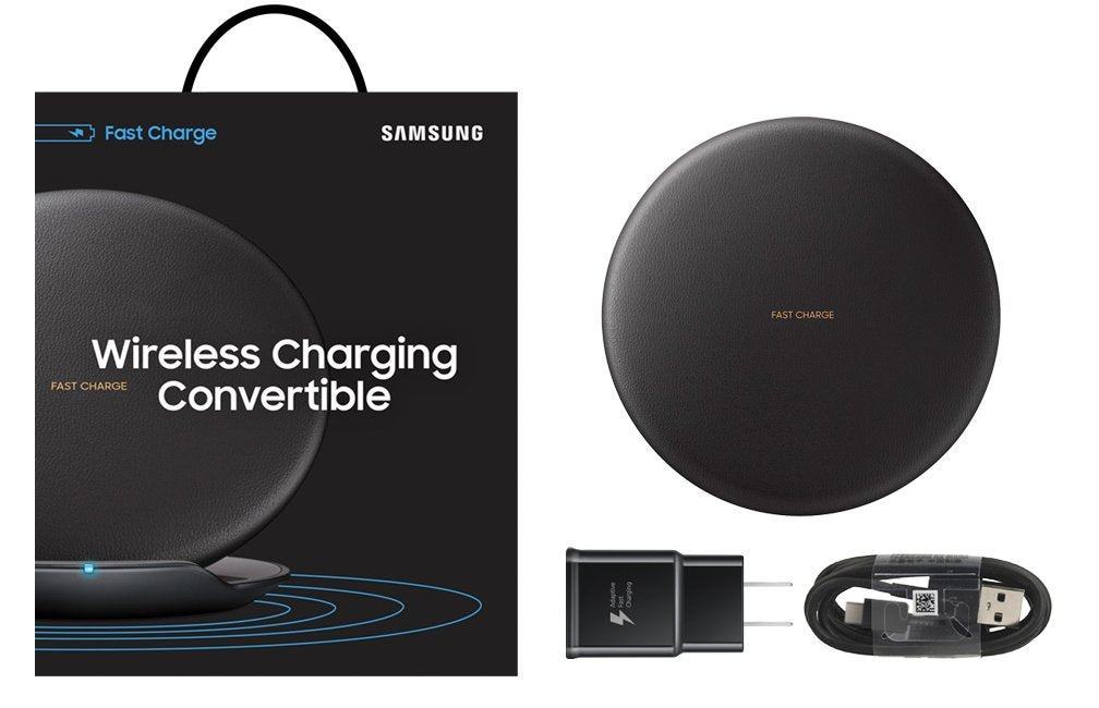 Daily Steals-Samsung Wireless and Convertible Fast Charge Pad With Stand-Cell and Tablet Accessories-