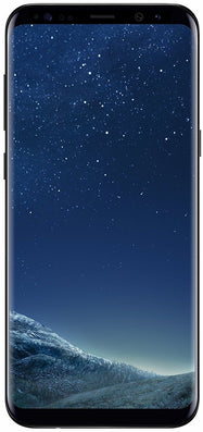 Samsung Galaxy S8 Plus 64GB Factory Unlocked, Verizon, AT&T, T-Mobile, 4G LTE - Midnight Black-Daily Steals