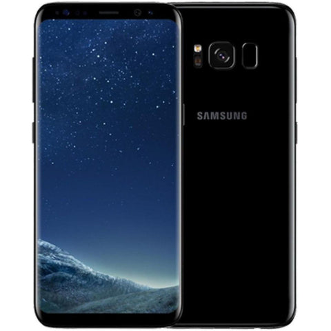 Daily Steals-Samsung Galaxy S8 Plus 64GB Factory Unlocked, Verizon, AT&T, T-Mobile, 4G LTE - Midnight Black-Cellphones-