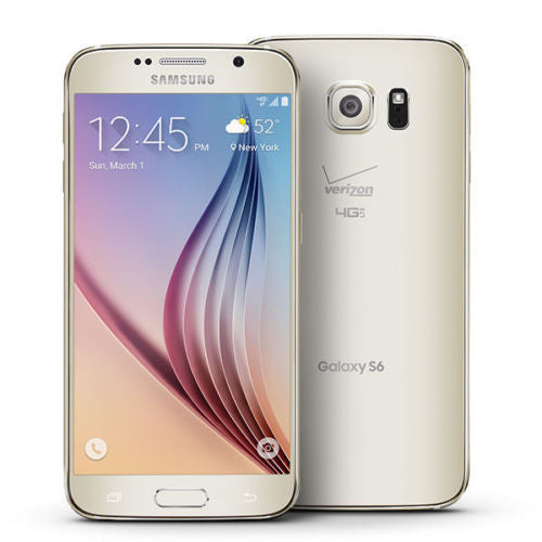 Samsung Galaxy S6 Verizon & GSM Unlocked Android Smartphone 32GB (3 Colors)