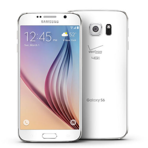 Samsung Galaxy S6 Verizon & GSM Unlocked Android Smartphone 32GB (3 Colors)-White-Daily Steals