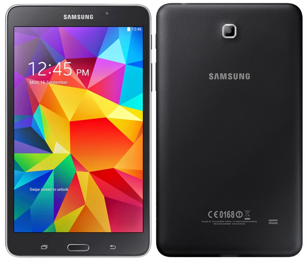 "Daily Steals-Samsung Galaxy Tab 4, 8"" HD Display, Wi-Fi 4G-Tablets-Black WiFi and Verizon-"
