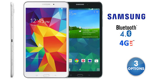 "update alt-text with template Daily Steals-Samsung Galaxy Tab 4, 8"" HD Display, Wi-Fi 4G-Tablets-White WiFi and ATT-"