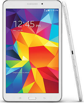 "Daily Steals-Samsung Galaxy Tab 4, 8"" HD Display, Wi-Fi 4G-Tablets-White WiFi and T-Mobile-"