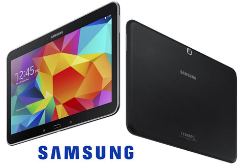 "Daily Steals-Samsung Galaxy Tab 4 with 10.1"" HD Display - 16GB with Wi-Fi + 4G Verizon Wireless - Black-Tablets-"
