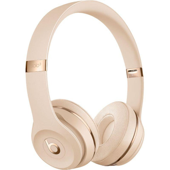 Beats Solo3 Club Collection Wireless On-Ear Headphones-Satin Gold-Daily Steals