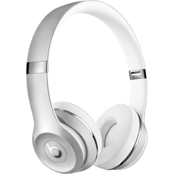 Beats Solo3 Club Collection Wireless On-Ear Headphones-Satin Silver-Daily Steals