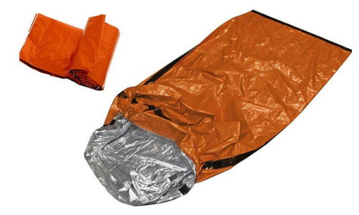 Emergency Sleeping Bag - Great for Camping / Survival / Cold Weather / The Wilderness-Daily Steals