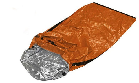 Daily Steals-Emergency Sleeping Bag - Great for Camping / Survival / Cold Weather / The Wilderness-Outdoors and Tactical-