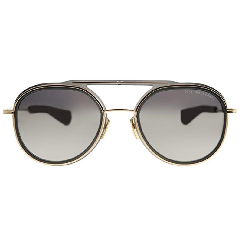 Unisex DITA Sunglasses - Spacecraft Grey White Gold Milky Gold Flash-Daily Steals