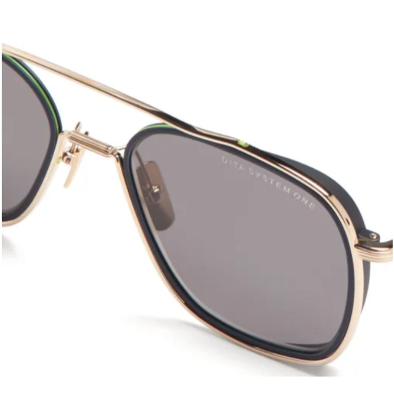 Unisex DITA Sunglasses - System-One White, Midnight Black Grey, Gold Flash-Daily Steals