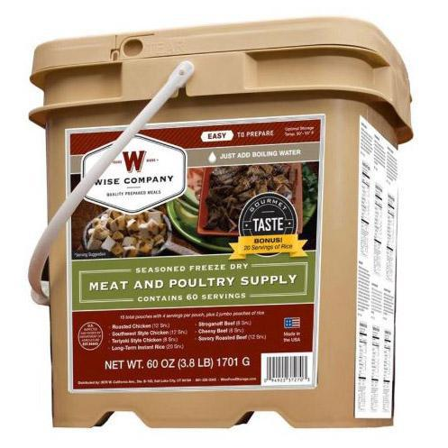 Wise Emergency Food Supply Bucket-Daily Steals