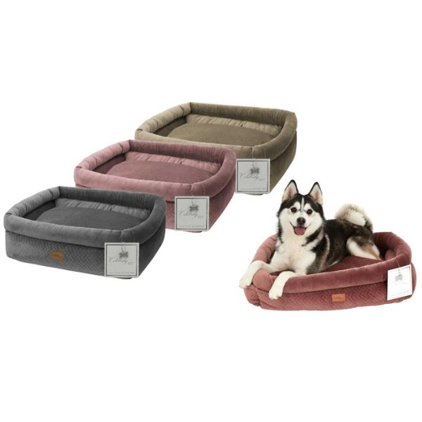 Daily Steals-Celebrity Dog Bed with Removable Cushion-Pets-Pink-Small-