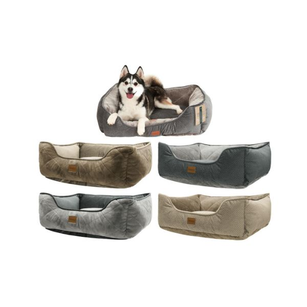 update alt-text with template Daily Steals-UrbanePet Reversible Dog Bed and Cat Bed-Pets-Grey-Medium-