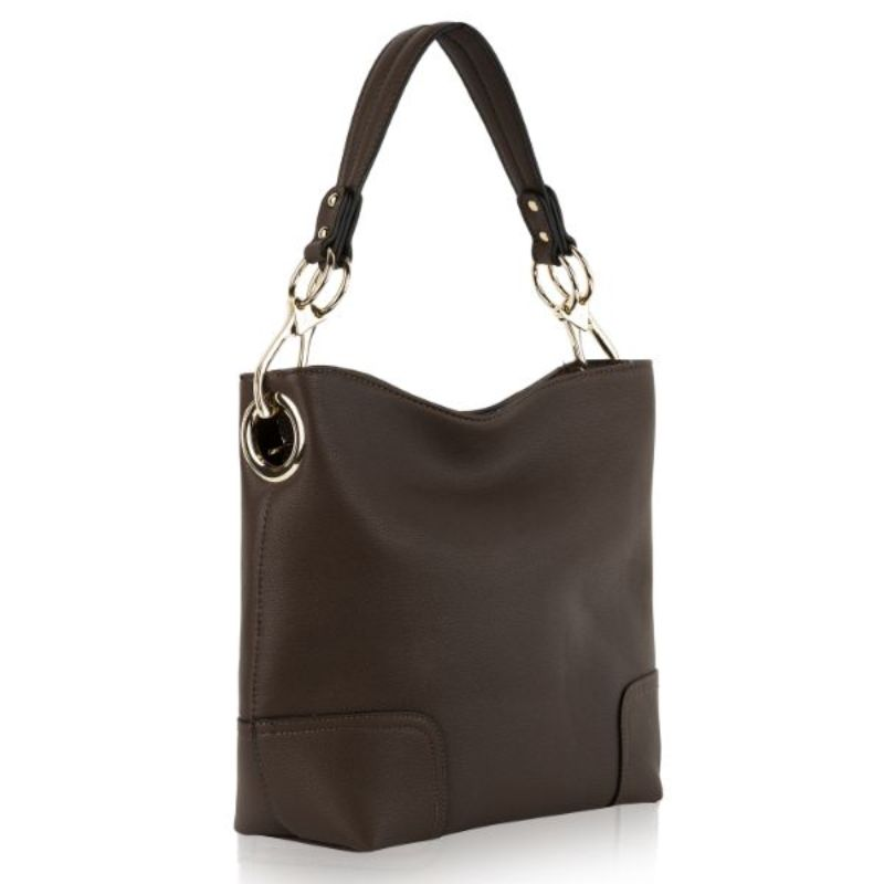Seema Hobo Vegan Leather Handbag by MKF-Coffee-Daily Steals