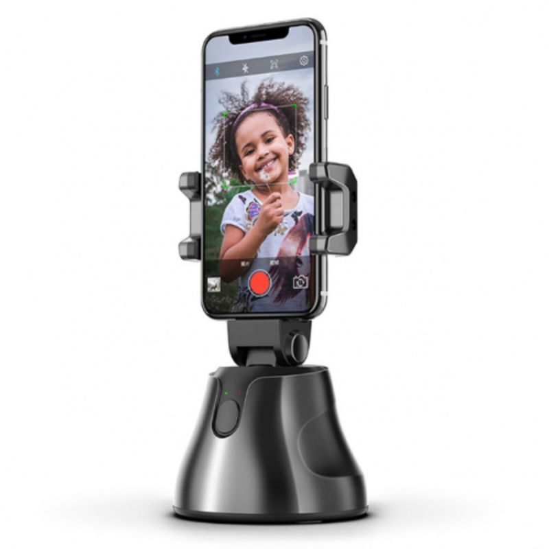 Smartphone Selfie Suction Mount with 360 Degree Object Tracking