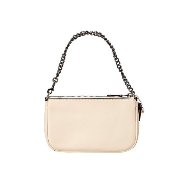 Coach Women's Selena Gomez Colorblock Leather Wristlet-Daily Steals