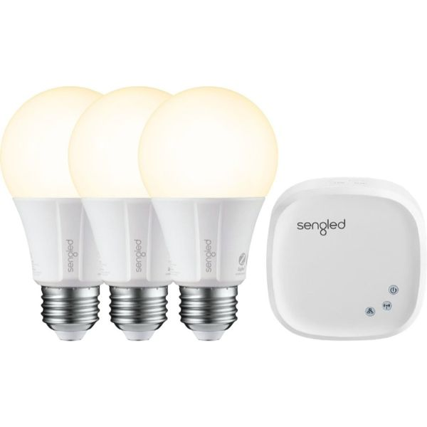 Sengled Smart LED A19 Starter Kit - White Only - 3 Pack-Daily Steals
