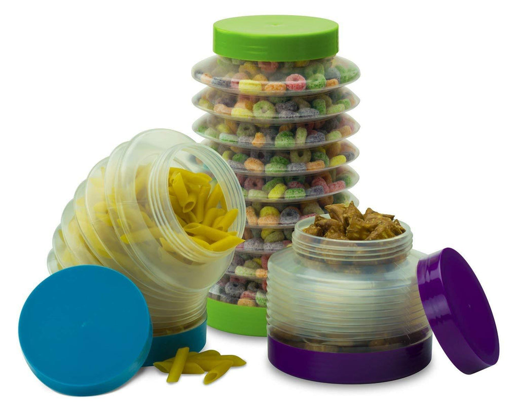 Daily Steals-[Set of 3] Boing Collapsible Canisters-Kitchen-